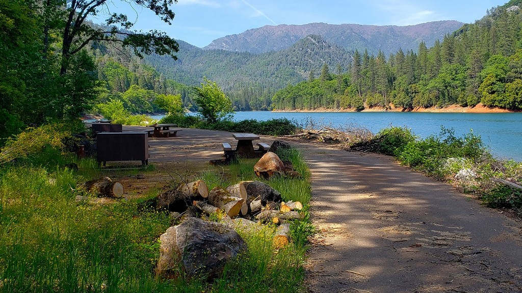 Review of Ellery Creek Campground in the Shasta-Trinity National Forest
